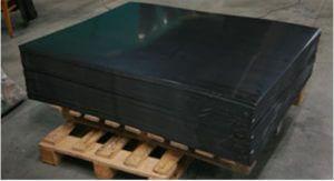 Листовой пластик. Листы ПП (цвет серый, толщина 10 мм)