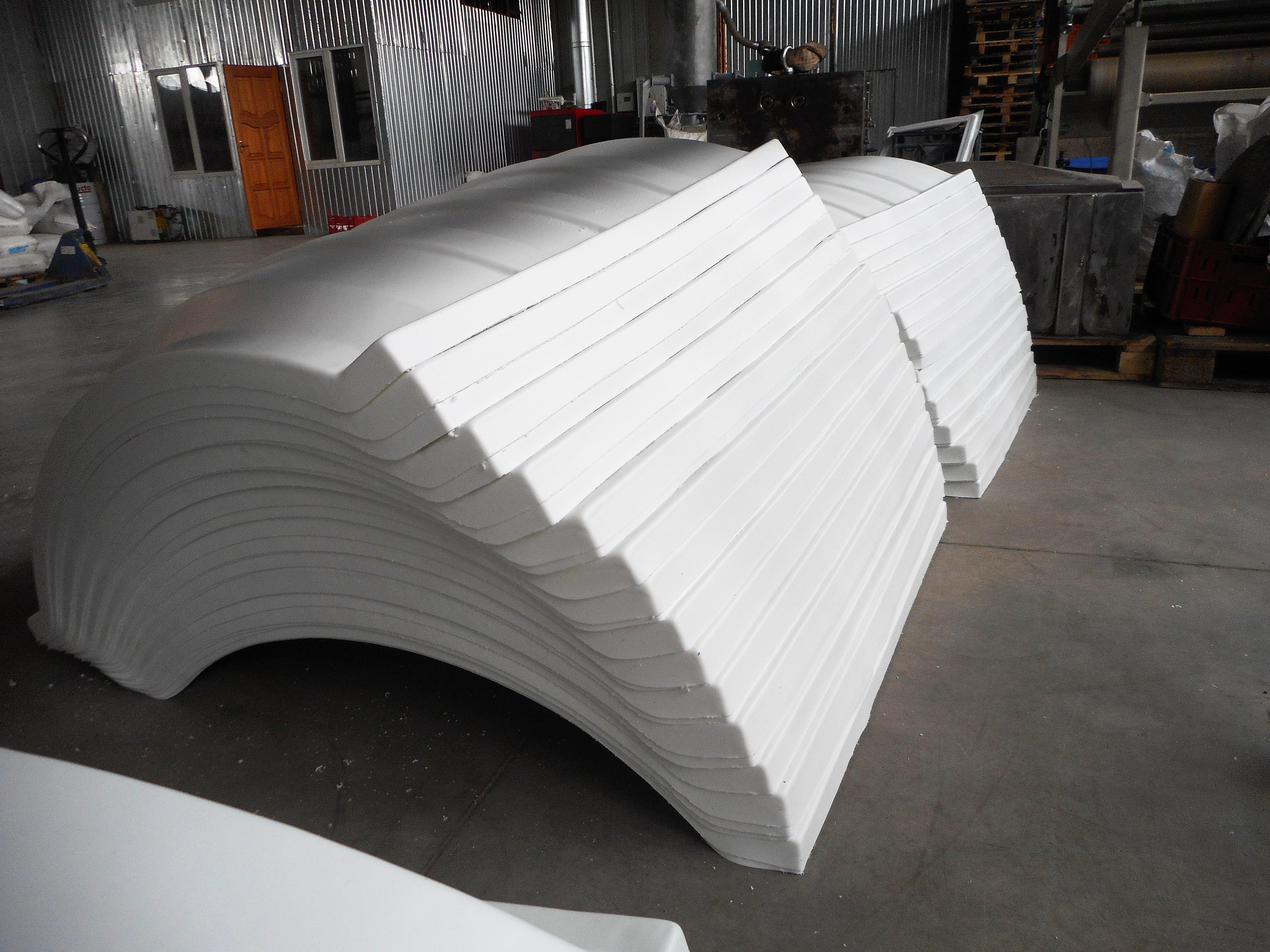 Вакуумное формование габаритных изделий